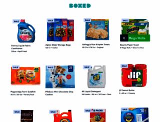 boxed.com screenshot
