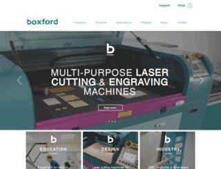 boxford.co.uk screenshot