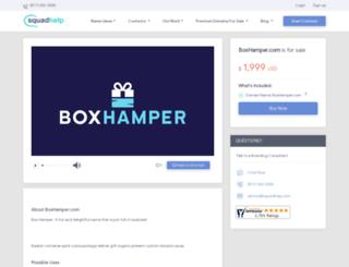 boxhamper.com screenshot