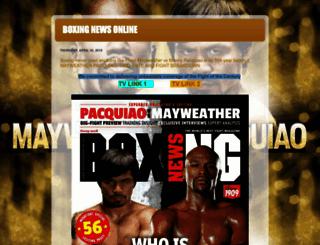 boxingnewsonline24-7.blogspot.com screenshot