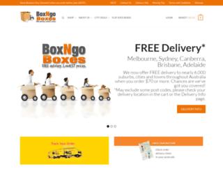 boxngoboxes.com.au screenshot