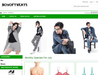boxoftreats.com.au screenshot