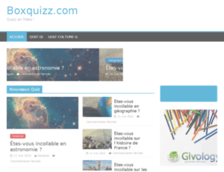 boxquizz.com screenshot
