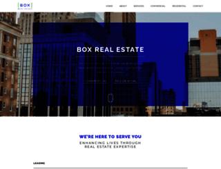 boxrealestate.com screenshot