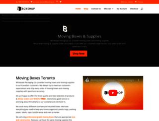 boxshop.ca screenshot