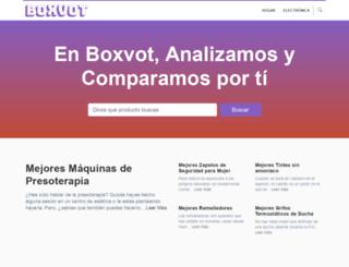 boxvot.es screenshot