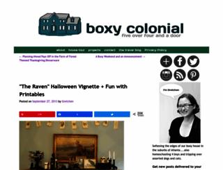 boxycolonial.blogspot.com screenshot