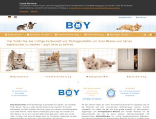 boy-katzennetze.de screenshot