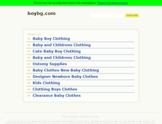 boybg.com screenshot
