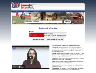 boyle.co.uk screenshot