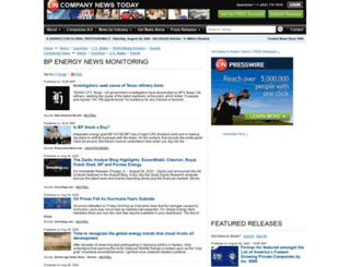 bpenergy.einnews.com screenshot