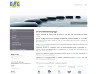 bpg-muenster.de screenshot