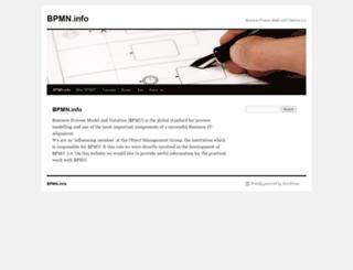 bpmn.info screenshot