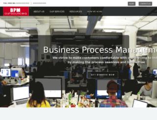 bpmoutsourcing.com screenshot