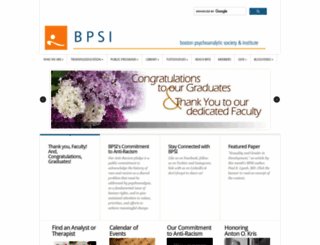 bpsi.org screenshot