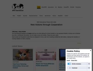 bpw-international.org screenshot