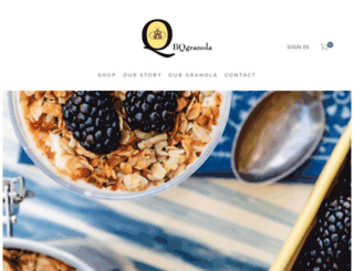 bqgranola.com screenshot