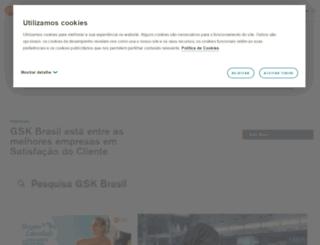 br.gsk.com screenshot