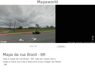 br.mapaworld.com screenshot