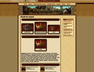 br67.tribalwars.com.br screenshot