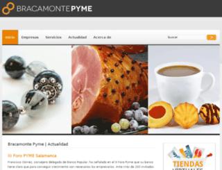 bracamontepyme.com screenshot