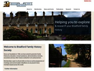bradfordfhs.org.uk screenshot