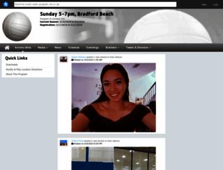 bradfordsunday.playerspace.com screenshot