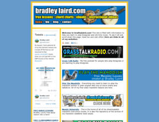 bradleylaird.com screenshot