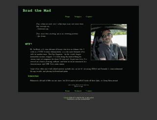bradthemad.org screenshot