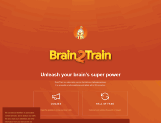 brain2train.com screenshot