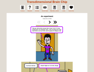 brainchip.thecomicseries.com screenshot