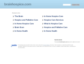 brainhospice.com screenshot