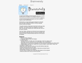brainiversity.com screenshot