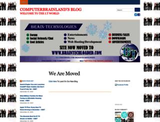 brainlandbots.wordpress.com screenshot