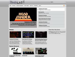 brainlazy.com screenshot