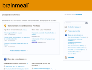 brainmeal.uservoice.com screenshot