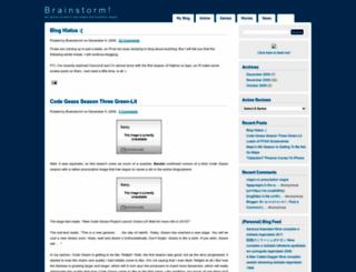 brainstormat.blogspot.com screenshot