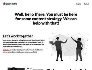 braintraffic.com screenshot