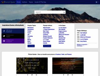 brainyquote.com screenshot