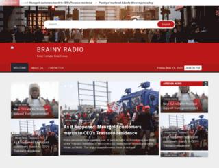 brainyradio.com screenshot