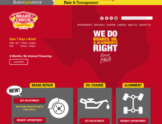 brakecheck.com screenshot