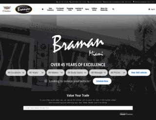bramanmiami.com screenshot