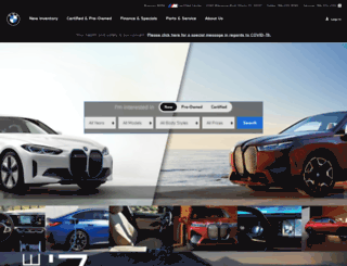 bramanmotorsbmw.com screenshot