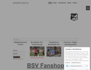 bramfelder-sv.com screenshot