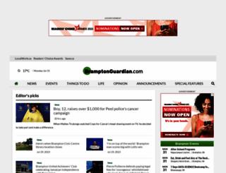 bramptonguardian.com screenshot