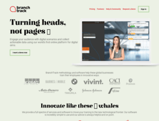 branchtrack.com screenshot