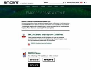 brand.emcore.com screenshot