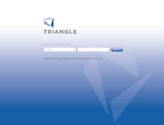 brand.trianglecrm.com screenshot