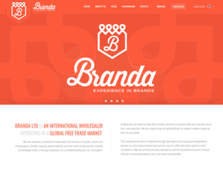 branda.co.uk screenshot