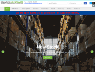 brandedhousewares.co.uk screenshot